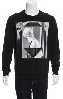 Givenchy Woven Crew Neck Sweater