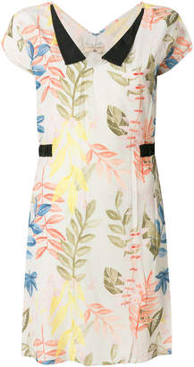Cotélac floral print shift dress