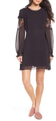 NSR Lace & Chiffon Dress