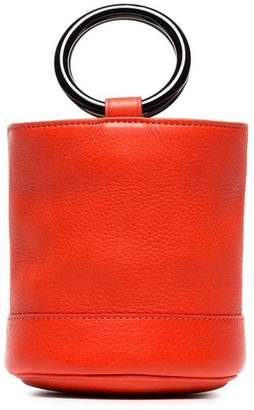 Simon Miller red Bonsai 15 bucket bag