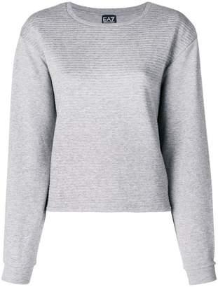 Emporio Armani Ea7 ribbed jersey sweater