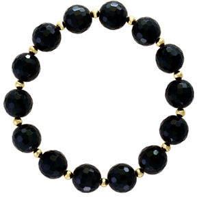 Effy 14K Yellow Gold and Onyx Bracelet