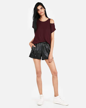 Express One Eleven Sliced Dolman Tee