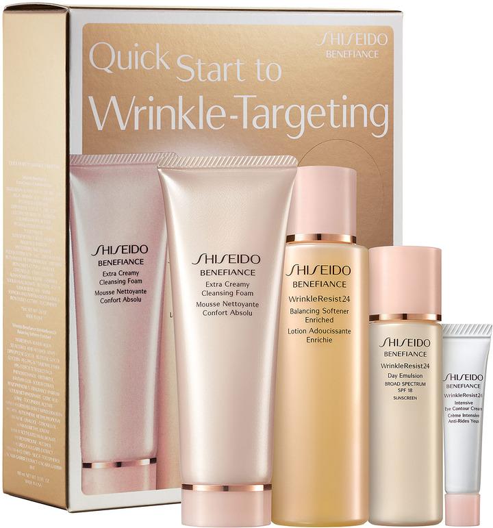 Shiseido Benefiance Quick Start To Wrinkle-Targeting Kit