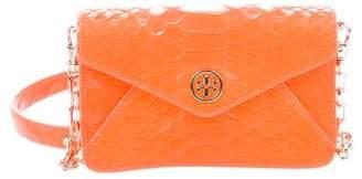 Tory Burch Mini Embossed Leather Logo Crossbody Bag