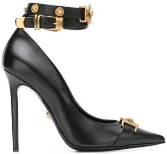 Versace City Stud pumps