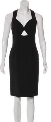 Alice + Olivia Midi Cutout Dress
