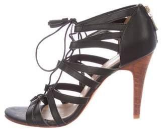 Ulla Johnson Leather Multi-Strap Sandals