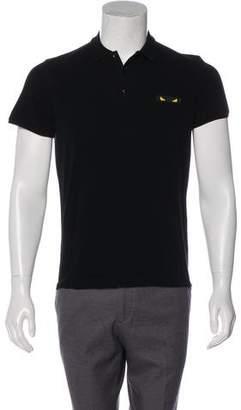 Fendi Short Sleeve Polo Shirt