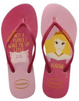 Havaianas Disney Princess Aurora Flip Flops