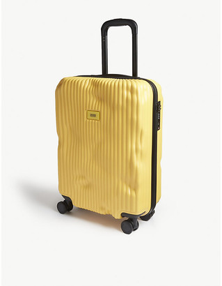 Selfridges Crash Baggage Stripe cabin suitcase 55cm