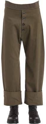 Loewe Cotton & Linen Trousers