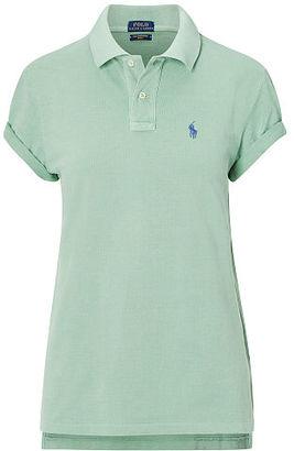 Polo Ralph Lauren Boyfriend Polo Shirt $98.50 thestylecure.com