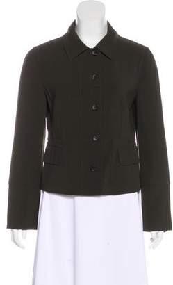 Agnona Collar Button-Up Jacket