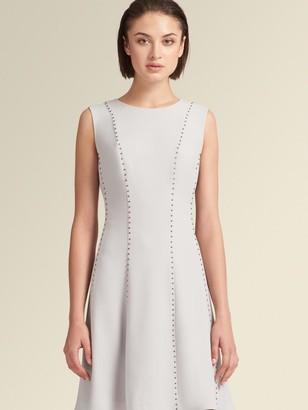 DKNY Studded A-Line Dress