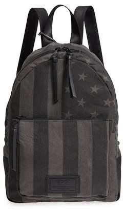 John Varvatos Gibson Flag Print Backpack