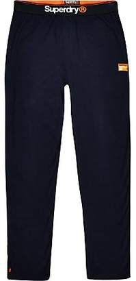 River Island Superdry navy loungewear trousers