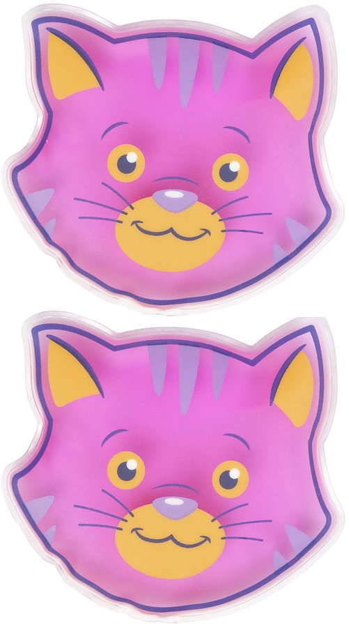 Safety First Boo Boo Buddy Cold Pack - Cat - 2 pk