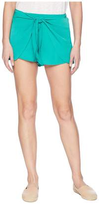 BB Dakota Quinn Tie Front Shorts Women's Shorts