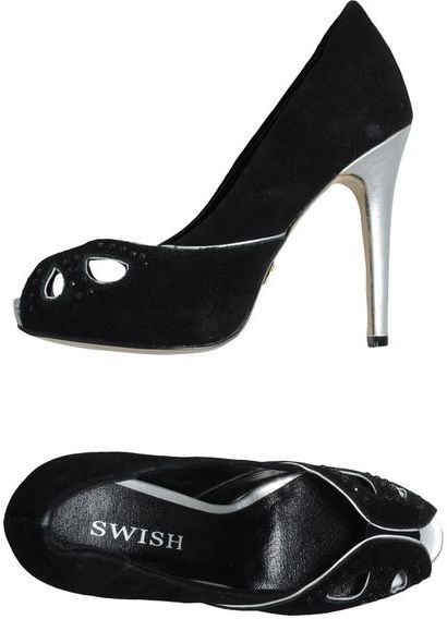 Swish Pumps with open toe