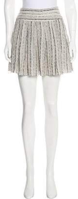 Vena Cava Flared Mini Skirt