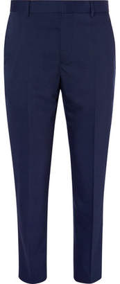 Joseph Navy Jack Slim-Fit Wool-Blend Trousers