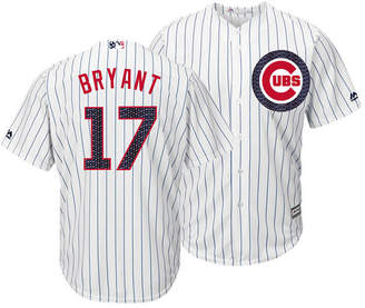 Majestic Men's Kris Bryant Chicago Cubs Stars & Stripes Cool Base Jersey