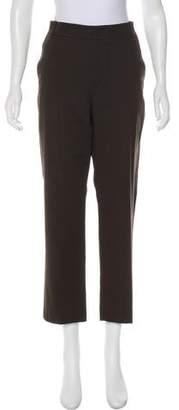 Vince High-Rise Straight-Leg Pants w/ Tags