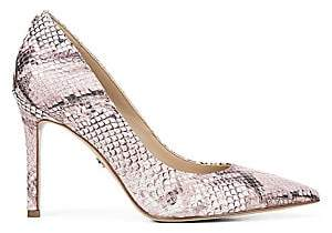 Sam Edelman Women's Hazel Snakeskin Stiletto Pumps