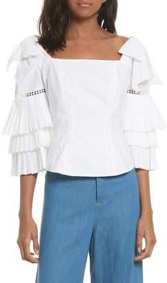 Sea Antoinette Ruffle Sleeve Blouse
