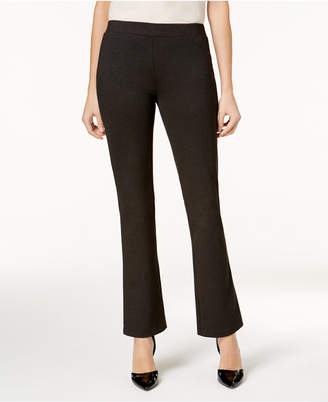 Nine West Pull-On Straight-Leg Pants