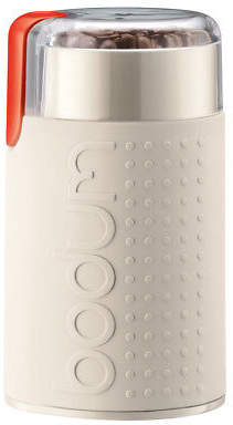 Bodum NEW Bistro Electric Coffee Grinder Off White