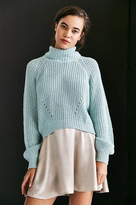 Kimchi Blue Noah Balloon-Sleeve Turtleneck Sweater $69 thestylecure.com