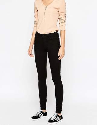 Weekday Body High Waist Super Stretch Skinny Jeans