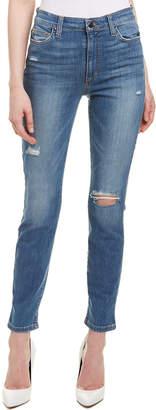 Joe's Jeans The Charlie Medium Denim High-Rise Ankle Skinny Leg