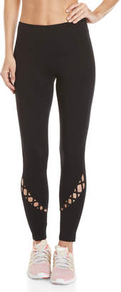 Andrew Marc Performance Lace-Up Athletic Leggings