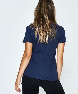 Calvin Klein Institutional Logo Slim T-Shirt Peacoat Navy
