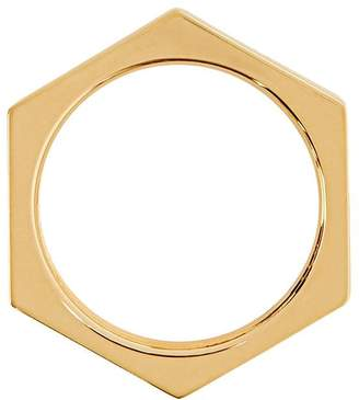 Burberry Nut gold-plated ring