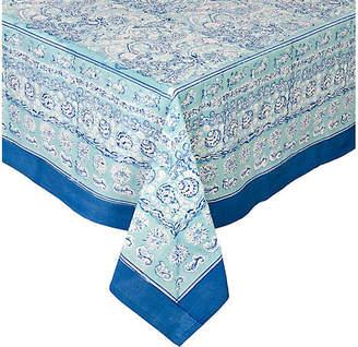 Couleur Nature La Mer Tablecloth - Aqua