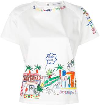 Mira Mikati Beach Rules T-shirt