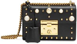 Gucci Padlock small studded shoulder bag