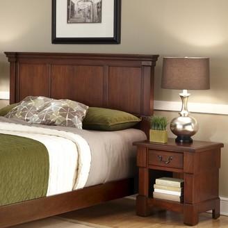 Home Styles Aspen 2-pc. King Rustic Headboard & Nightstand Set
