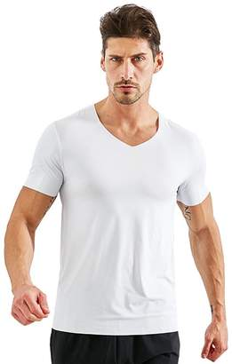 5e7fabe301a In-fashion style Men s Deep V Neck Short Sleeve Modal T-Shirt