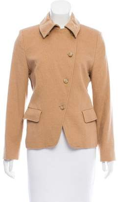 Max Mara Structured Long Sleeve Jacket