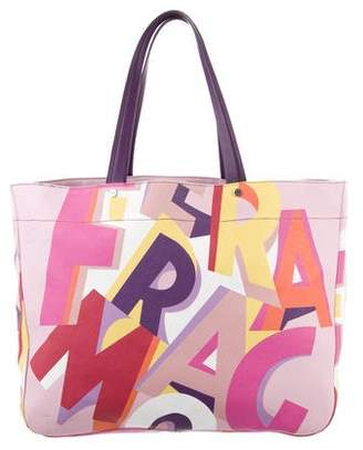 Salvatore Ferragamo Pink Tote Bags - ShopStyle 01660333a78d7