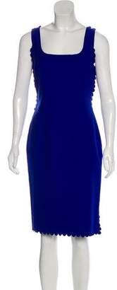 Lanvin Sleeveless Sheath Dress