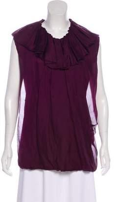 Lanvin Silk Blend Top