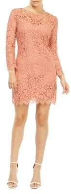 Dex Lace Mesh Sheath Dress