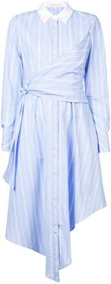 Jonathan Simkhai striped long-sleeve dress