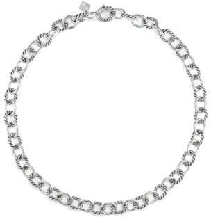 David Yurman Medium Oval Link Necklace